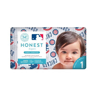 Honest Company Diapers, Chicago Cubs - Size 1 (44ct)