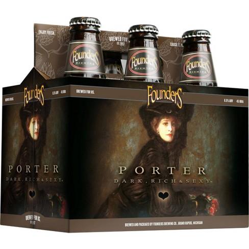 Founders Porter Beer - 6pk/12 fl oz Bottles - image 1 of 2