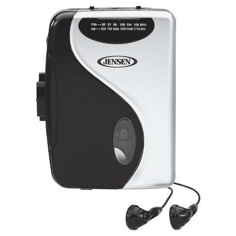 Jensen Portable Stereo Cassette Player with AM/FM Radio (SCR-68C) - image 1 of 3