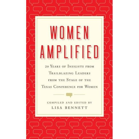 Women Amplified - by  Lisa Bennett (Hardcover) - image 1 of 1