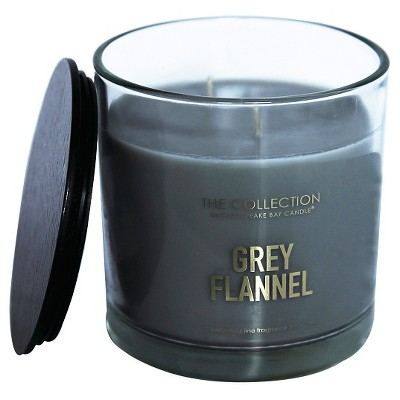 13oz Glass Jar Candle Grey Flannel - The Collection By Chesapeake Bay Candle