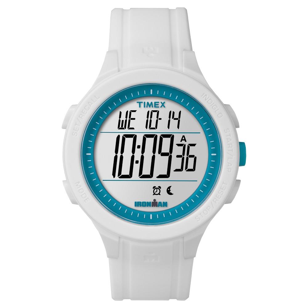 Best Review Timex Ironman Essential 30 Lap Digital Watch White TW5M14800JT