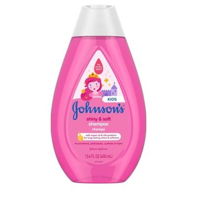 Johnson's Kids Shiny and Soft Shampoo - 13.6 fl oz