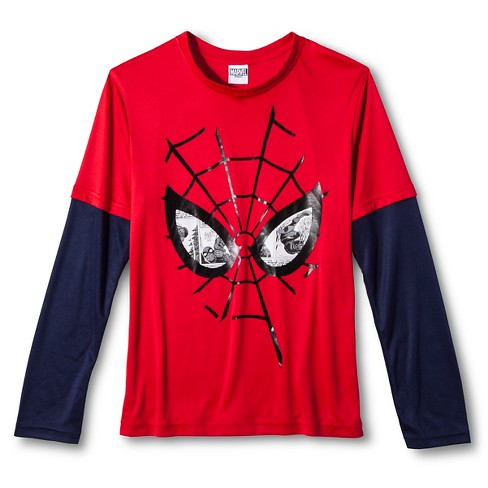 Boys' Spider-Man Active Top - Red L - image 1 of 1