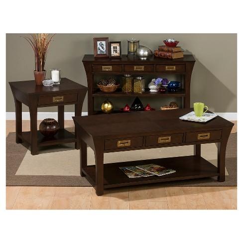 65530ca3c3b46 Artisan End Table Medium Brown - Jofran Inc.   Target