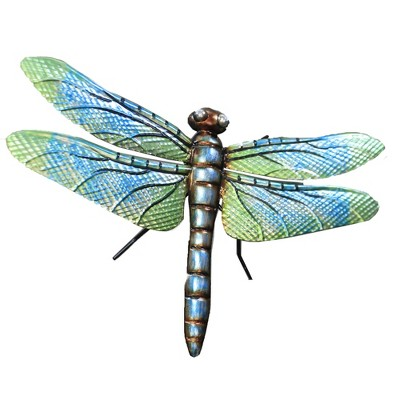"Home & Garden 30.5"" Dragonfly Dasher Garden Stake Yard Decor Regal Art & Gift  -  Decorative Garden Stakes"