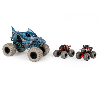 Monster Jam 3-Pack Bundle - Into the Deep - Megalodon