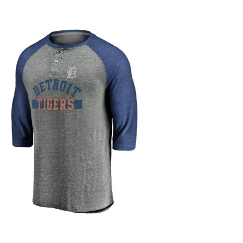 authorized site amazing price exquisite style MLB Detroit Tigers Men's In The Fray Cooperstown 3/4 Sleeve T ...