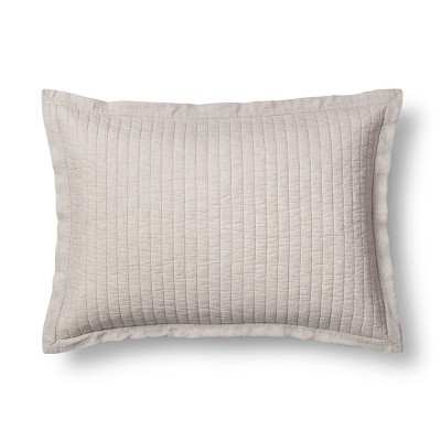 Pebble Cotton Cashmere Sham (Standard)- Fieldcrest®