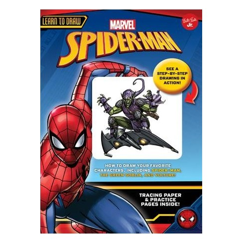010fc2d380c9 Learn To Draw Marvel s Spider-Man   How To Draw Your Favorite Characters
