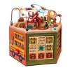 B. toys - Youniversity - Deluxe Wooden Activity Cube - image 2 of 4