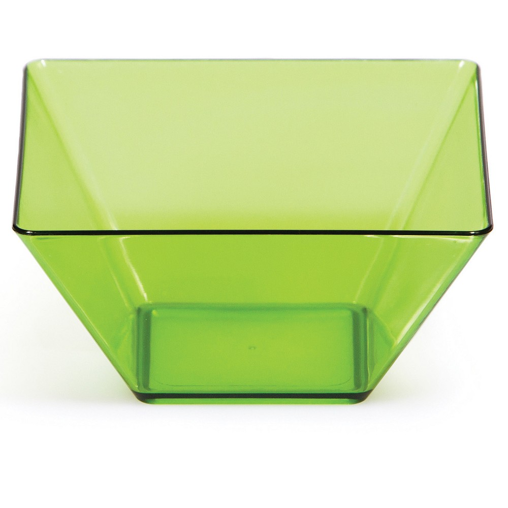 8ct Green Bowl, Disposable Dinnerware