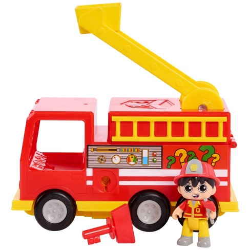 Ryan's World Mystery Fire Truck - image 1 of 4