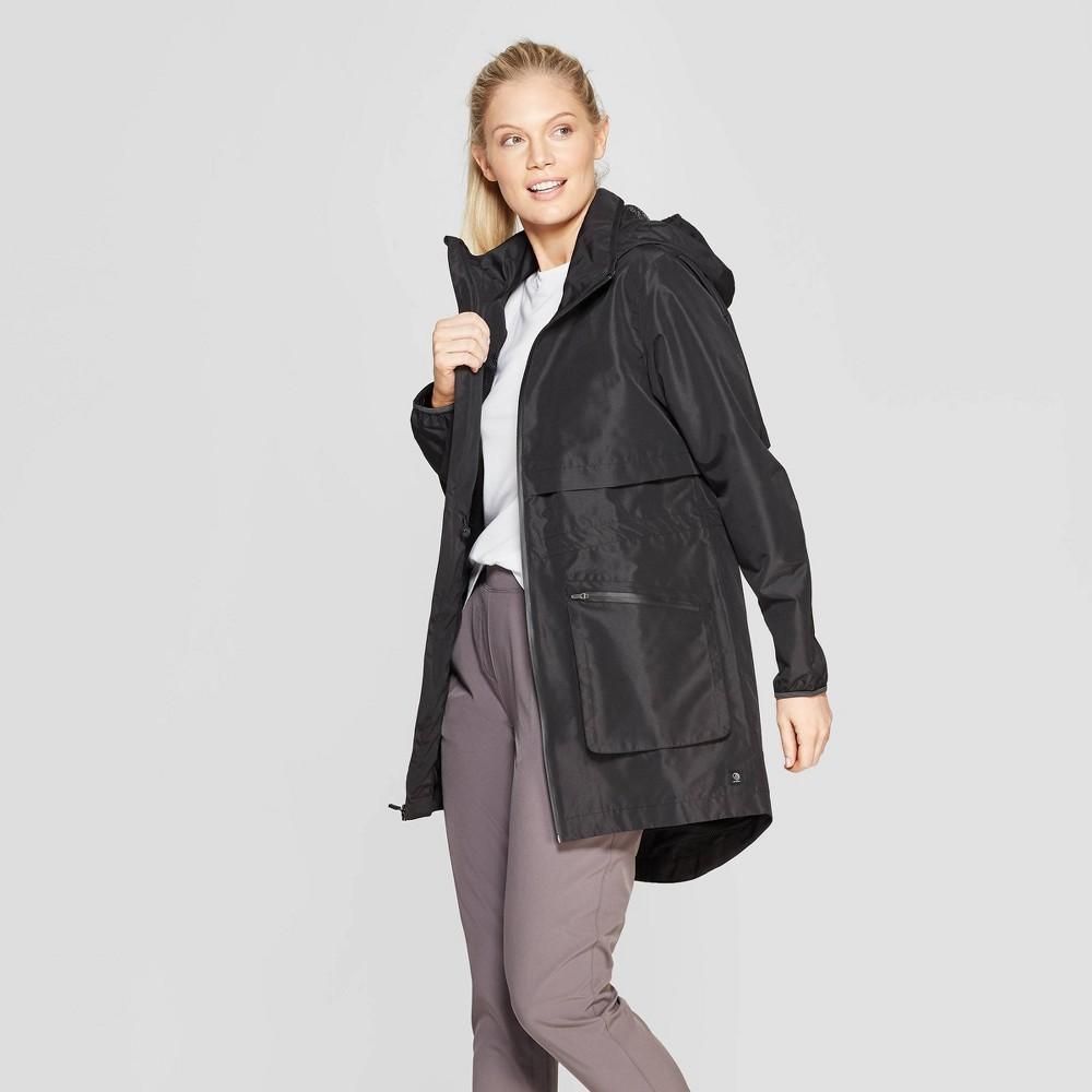 Mpg Sport Women's Woven Water Resistant Jacket Black L
