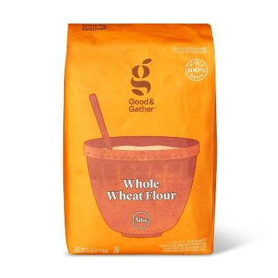 Flours & Meals: Good & Gather Whole Wheat Flour