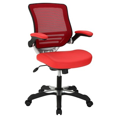 Office Chair Modway Absolutely Red