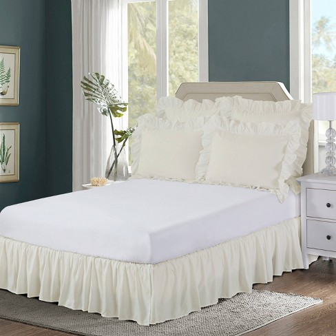 Wrap-around Ruffled Bed Skirt - Bed Maker's - image 1 of 4
