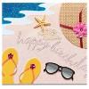 Papyrus Beach Scene Birthday Card - image 3 of 3