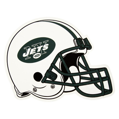 bf6859a9cf8 NFL New York Jets Large Outdoor Helmet Decal   Target