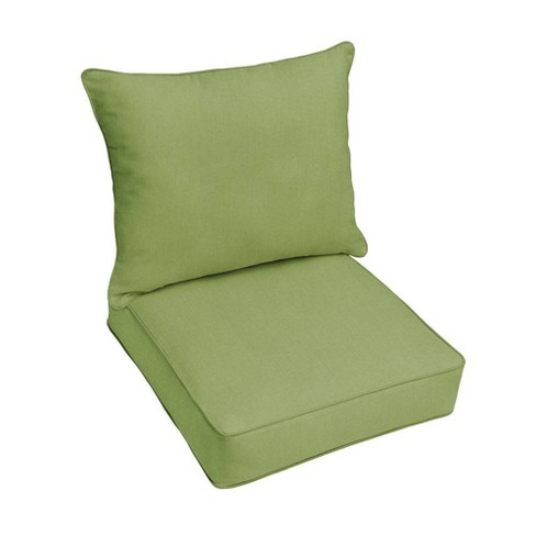 Sunbrella Outdoor Seat Cushion Cilantro