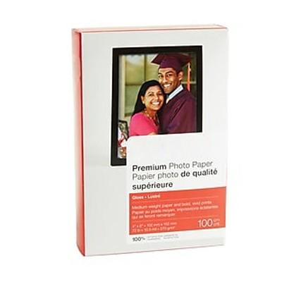 "MyOfficeInnovations Premium Glossy Photo Paper 4"" x 6"" 100/Pack (17673-CC) 508431"
