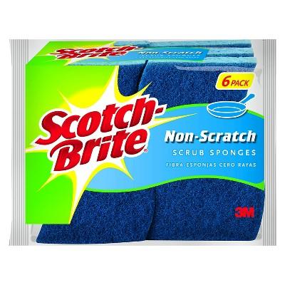 Scotch-Brite™ 6 Pk. Non-Scratch Multipurpose Scrub Sponge