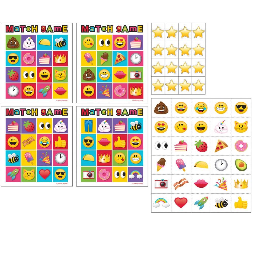10ct Creative Converting Show Your Emojions Bingo Game