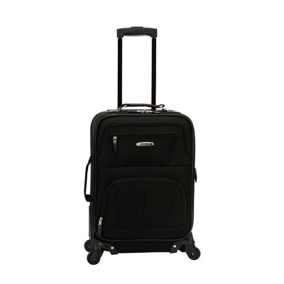 """Rockland Pasadena 19"""" Expandable Spinner Carry On Suitcase"""