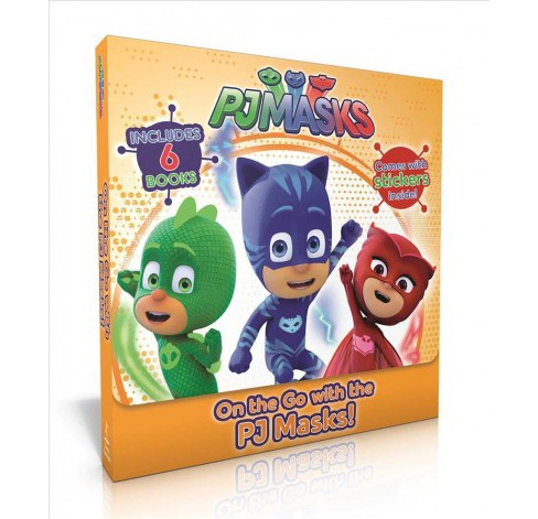 On the Go With the PJ Masks! : Into the Night to Save the Day! / Owlette Gets a Pet / PJ Masks Make - image 1 of 1