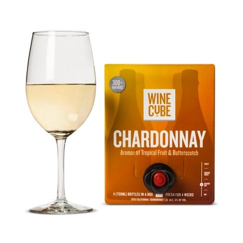 chardonnay white wine 3l box wine cube target