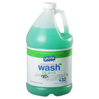 SPLASH Summer De-Bug Windshield Wash