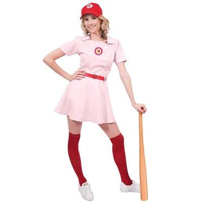 Orion Costumes Rockford Peaches Women's Costume Baseball Uniform