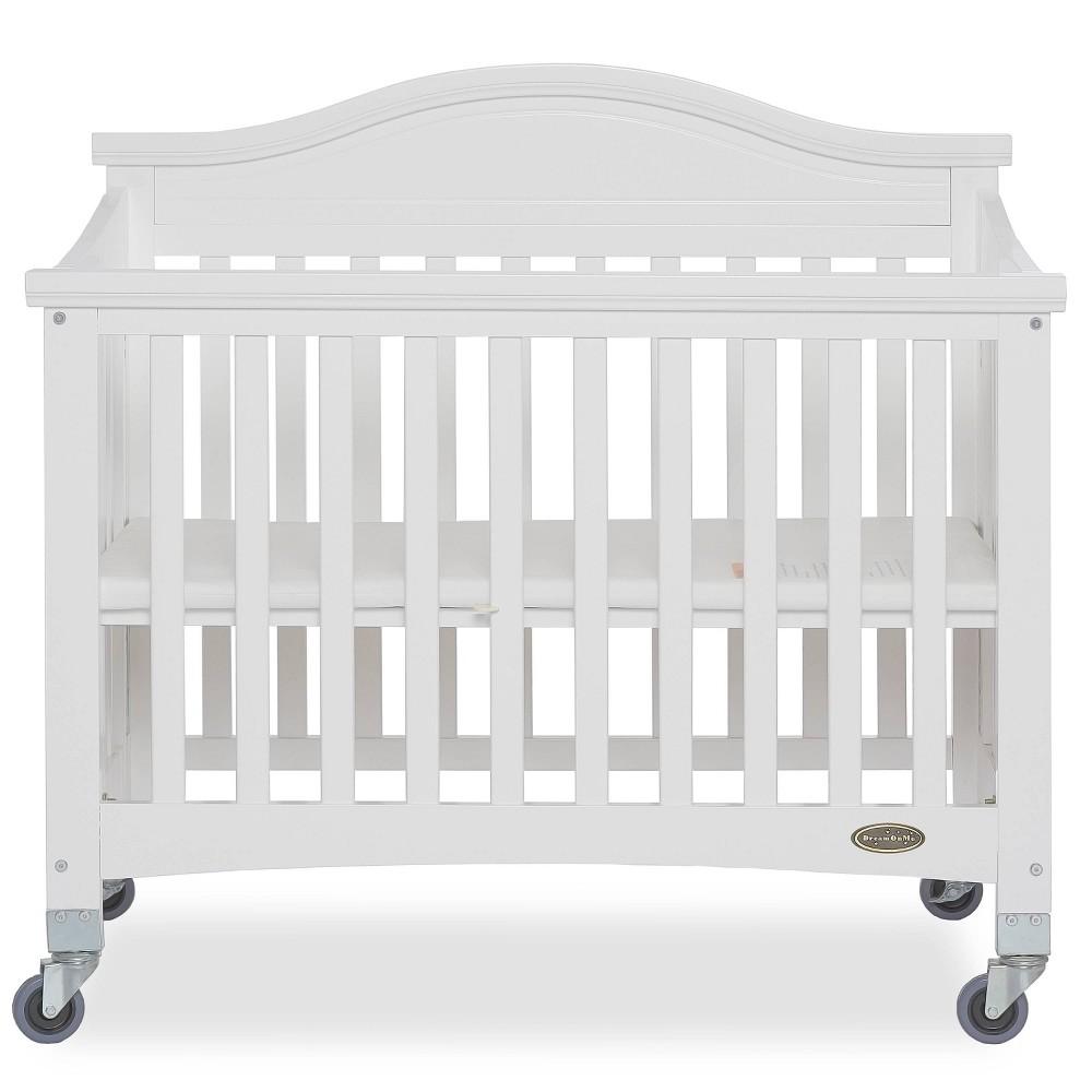Image of Dream On Me Venice Folding Portable Crib - White