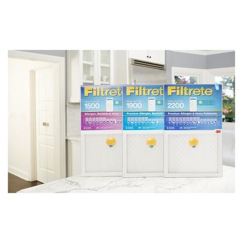 "filtrete smart air filter, 1500 mpr, 14""x25"" : target"