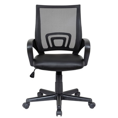 Mid Back Mesh Student Chair Black - Global Furniture