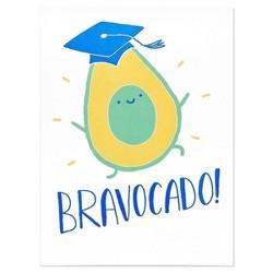 """Graduation Card """"Bravocado"""""""