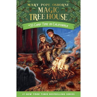 Camp Time in California - (Magic Tree House) by Mary Pope Osborne (Hardcover)