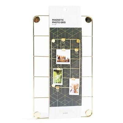"""6""""X 10"""" Magnetic Locker Photo Grid   Locker Style By U Brands by Locker Style By U Brands"""