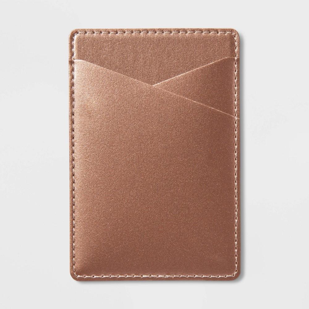 heyday Cell Phone Wallet Pocket - Metallic Gold