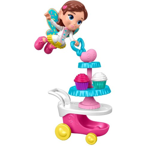Fisher-Price Butterbeans Cafe Butterbeans Cupcake Cart - image 1 of 4