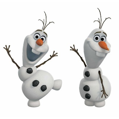 Frozen Olaf The Snow Man Peel and Stick Wall Decal