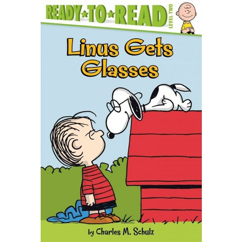 Linus Gets Glasses - (Peanuts) by  Charles M Schulz (Paperback) - image 1 of 1