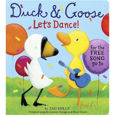 Duck & Goose, Let's Dance! by Tad Hillis (Board Book)