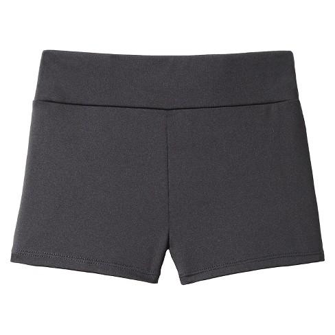 Freestyle by Danskin Girls' Activewear Shorts - Black XS - image 1 of 2