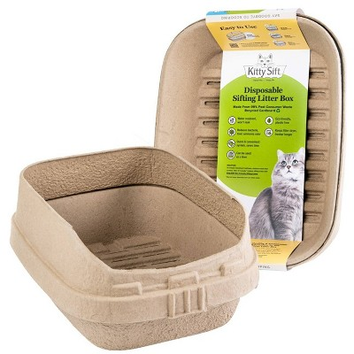 Kitty Sift Disposable Sifting Cat Litter Box