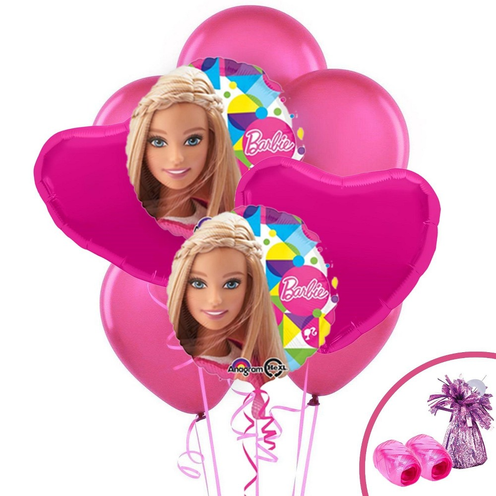 Barbie Balloon Bouquet Kit, Multi-Colored