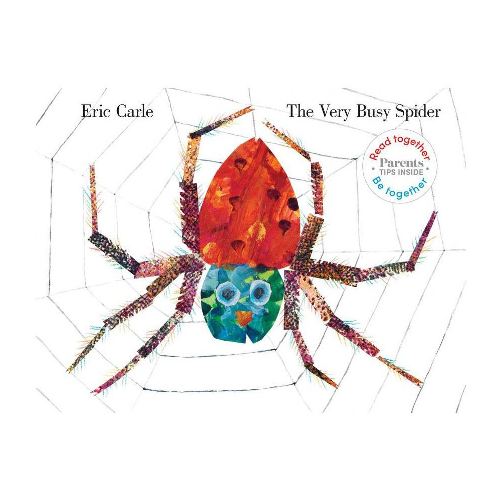 Very Busy Spider Read Together Be Together Edition By Eric Carle Hardcover