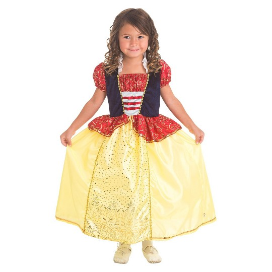 Little Adventures Girls' Snow White Dress - M, Size: Medium image number null