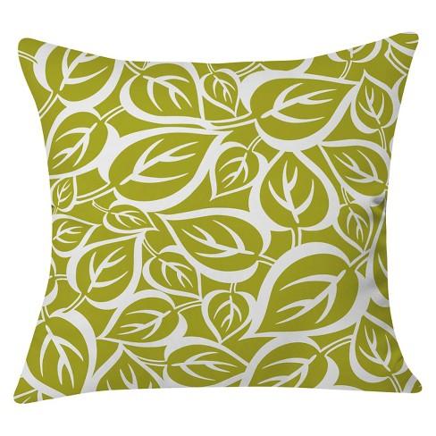 """White Heather Dutton Falling Foliage Throw Pillow (20""""x20"""") - Deny Designs® - image 1 of 3"""