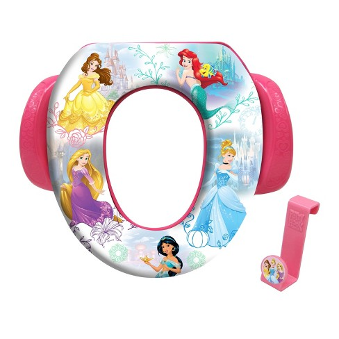 """Disney Princess """"Adventure is Waiting"""" Soft Potty Seat with Potty Hook - image 1 of 2"""